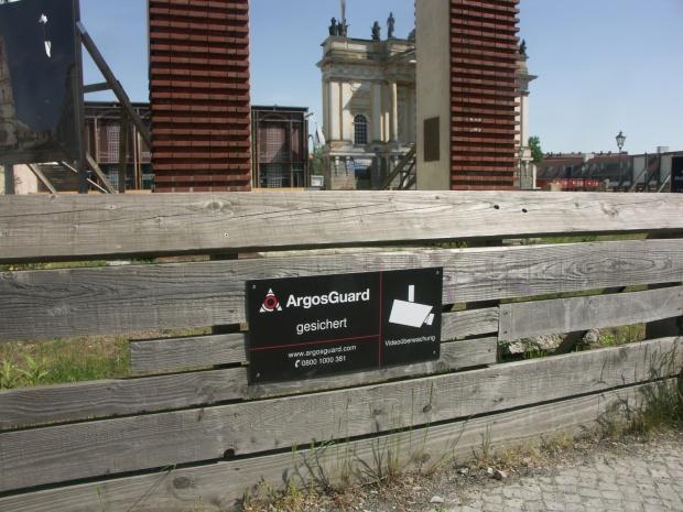 Überwachungskamera Garnisonkirche Potsdam